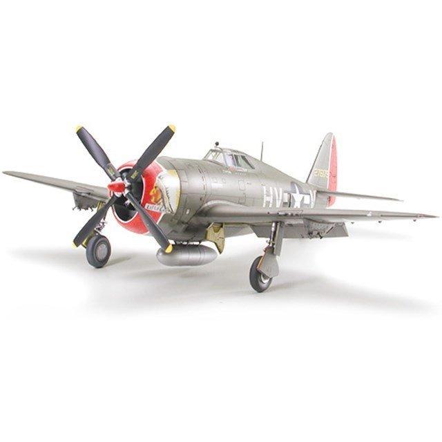 """タミヤ 1/48 リパブリック P-47D サンダーボルト """"レイザーバック"""" スケールモデル 61086"""
