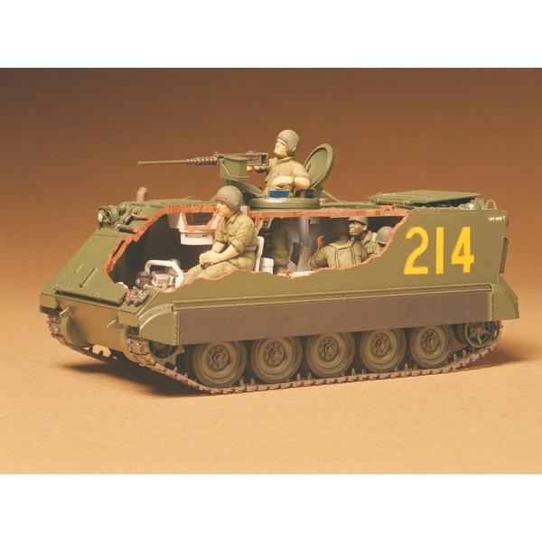 タミヤ 1/35 アメリカ M113 装甲兵員輸送車 スケールモデル 35040