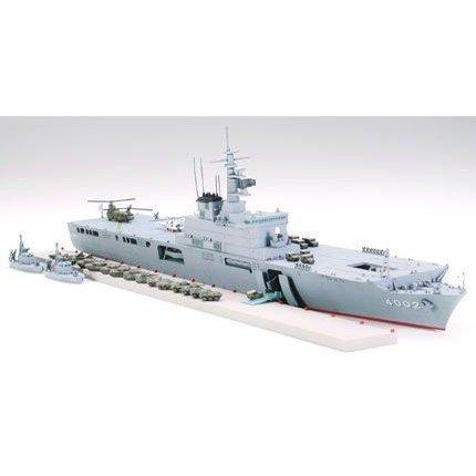 タミヤ 1/700 海上自衛隊輸送艦 しもきた スケールモデル 31006