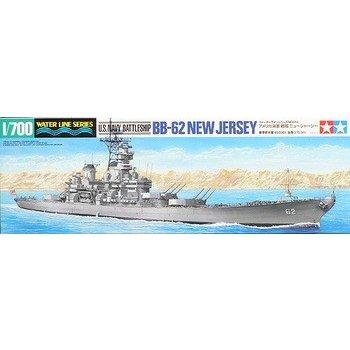 タミヤ 1/700 戦艦ニュージャージー アメリカ海軍 スケールモデル 31614