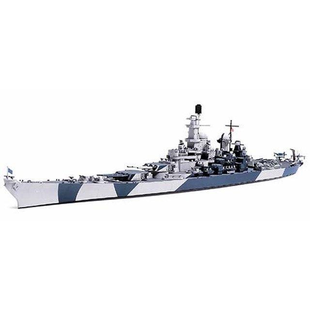 プラモデル TAMIYA タミヤ 1/700 ウォーターライン アメリカ海軍 戦艦アイオワ