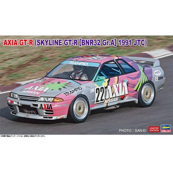 ハセガワ 1/24 AXIA GT-R(スカイライン GT-R[BNR32 Gr.A仕様]1991 JTC) スケールモデル 20514