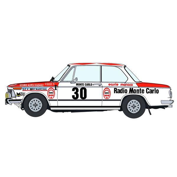 """ハセガワ 1/24 BMW 2002 tii""""1975 モンテカルロ ラリー"""" スケールモデル 20516"""