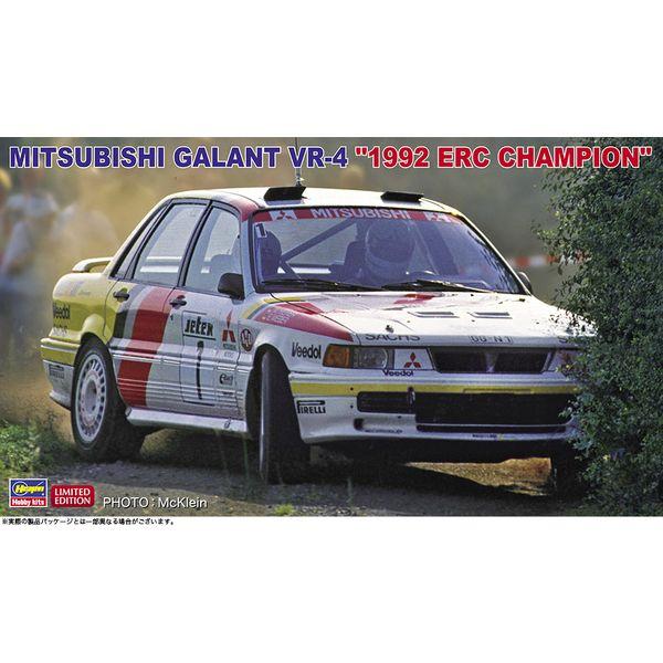 """ハセガワ 1/24 三菱 ギャラン VR-4""""1992 ERCチャンピオン"""" スケールモデル 20518"""