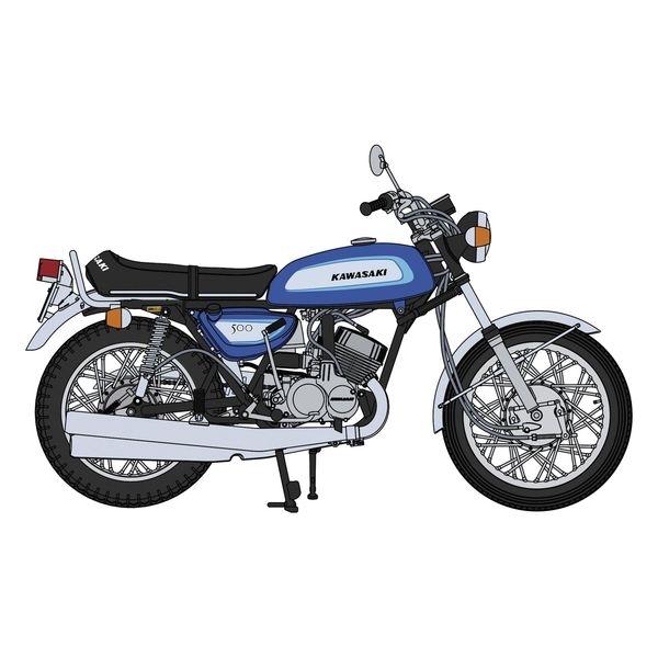ハセガワ 1/12 カワサキ 500-SS/MACHIII(H1A) スケールモデル 21735