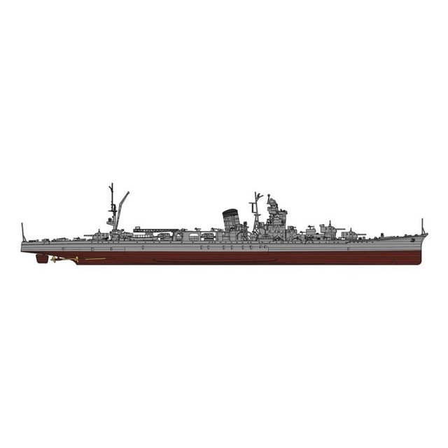 ハセガワ 1/350 日本海軍 軽巡洋艦 酒匂 スケールプラモデル 40098