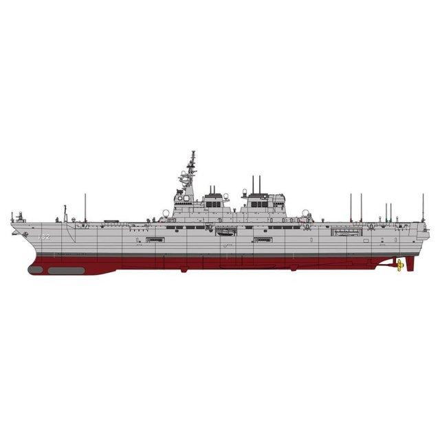 ハセガワ 1/450 海上自衛隊 ヘリコプター搭載護衛艦 いせ スケールプラモデル 40099