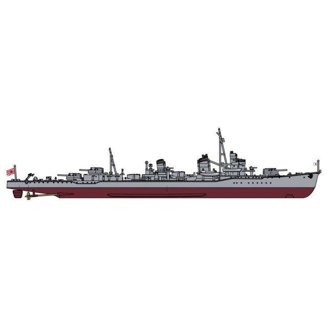ハセガワ 1/700 日本海軍 駆逐艦 峯雲(朝潮型) フルハルスペシャル スケールモデル CH126