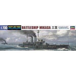 ハセガワ 1/700 日本海軍 戦艦 三笠 スケールモデル 151