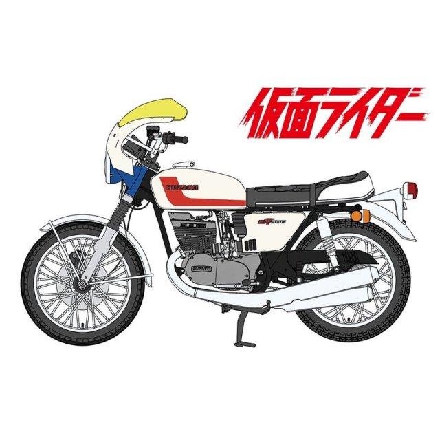 ハセガワ 1/12 本郷猛のバイク [スズキGT380B] 「仮面ライダー」より キャラクタープラモデル SP377