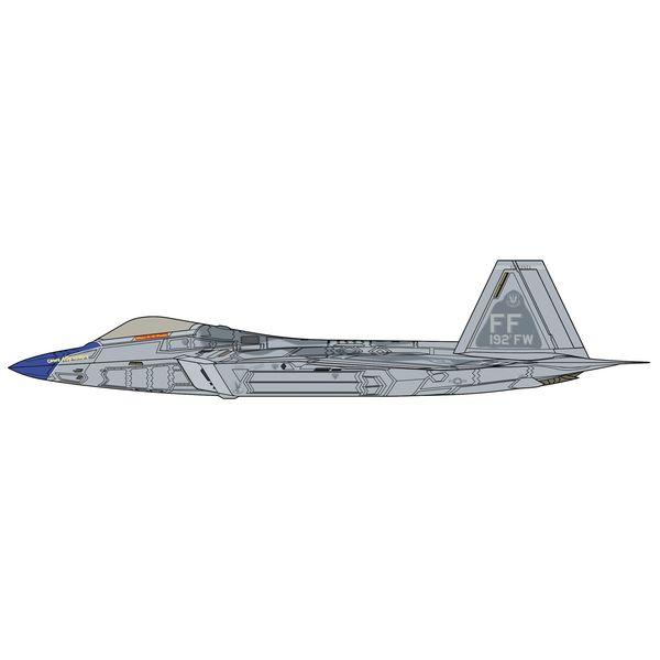 """【7月予約】ハセガワ 1/48 F-22 ラプター""""ブルーノーズ ディテールアップ バージョン"""" スケールモデル SP493"""