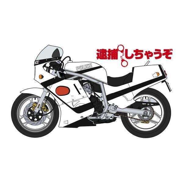 【7月予約】ハセガワ 1/12 「逮捕しちゃうぞ」スズキ GSX-R750 白バイ仕様 スケールモデル SP495
