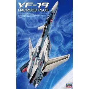 ハセガワ 1/48 YF-19 「マクロスプラス」より キャラクタープラモデル MC01