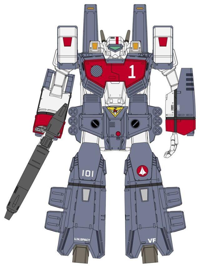 【12月予約】ハセガワ 1/72 VF-1J アーマード バルキリー 「超時空要塞マクロス」より キャラクタープラモデル 30