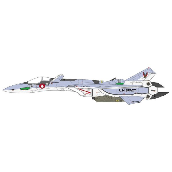 """ハセガワ 1/48 VF-19A""""VF-X レイブンズ"""" 「マクロス VF-X2」より キャラクタープラモデル 65873"""