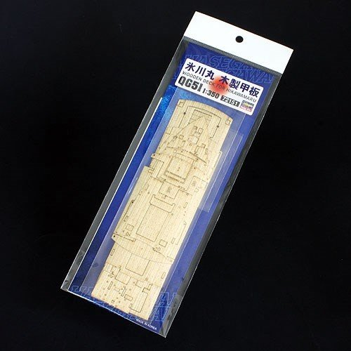 ハセガワ  1/350 氷川丸 木製甲板 模型用グッズ QG51