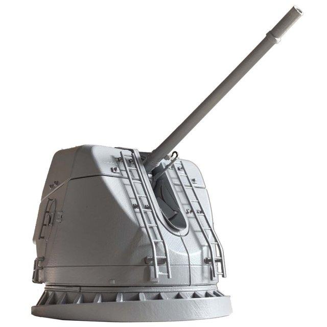 フジミ 護衛艦こんごう型54口径127MM速射砲 模型用グッズ 集める装備品シリーズ No.6