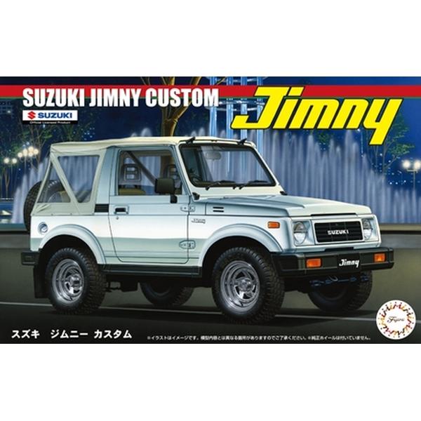 フジミ 1/24 スズキジムニー1300カスタム'86 スケールモデル ID70