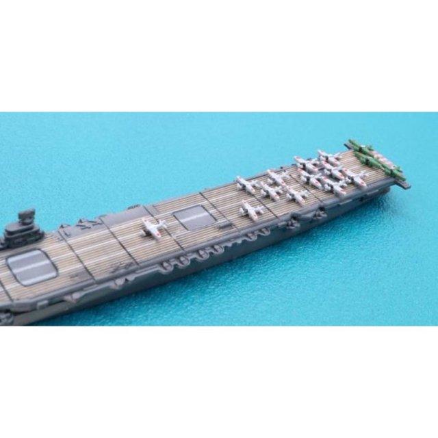 フジミ  1/3000 ミッドウェー作戦 南雲機動部隊セット艦載機付き(赤城/加賀/蒼龍/飛龍/榛名/霧島/駆逐艦12隻) スケールプラモデル 軍艦-9