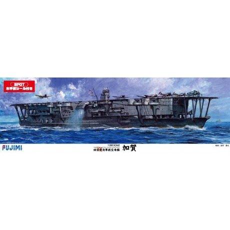 フジミ  1/350 日本海軍航空母艦 加賀 木甲板シール付 スケールプラモデル 艦船SP