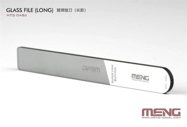 【2月予約】モンモデル MENG ガラスやすり(ロング) 模型用グッズ MMTS-048A