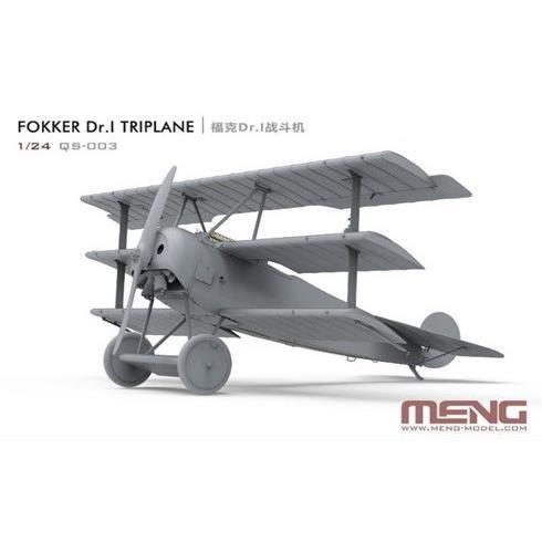 【4月予約】モンモデル 1/24 フォッカー Dr.I 戦闘機 スケールモデル MQS003