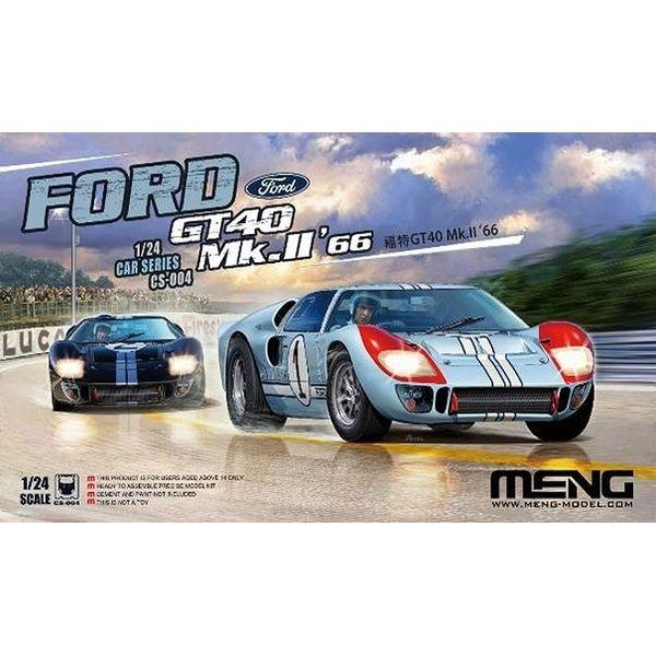 【8月予約】モンモデル 1/24 フォード GT40 Mk.II'66 (通常版) スケールモデル MCS004