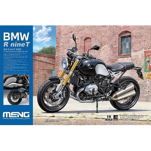 【8月予約】モンモデル 1/9 BMW R nineT (通常版) スケールモデル MMT003
