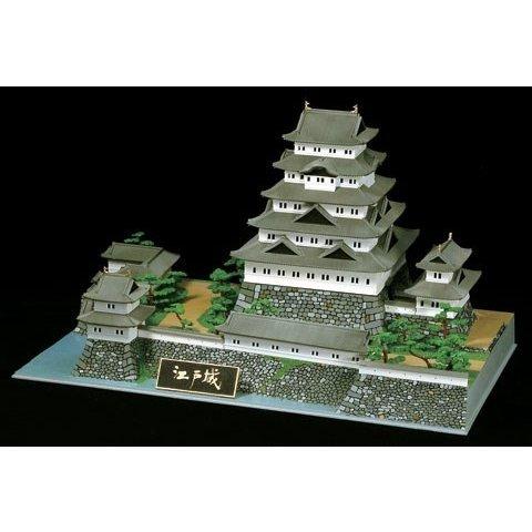 童友社 1/350 日本の名城プラモデル デラックス版 江戸城 スケールモデル DX4