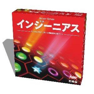 ホビージャパン ライナー・クニツィアのインジーニアス 日本語版 ボードゲーム 4981932022567