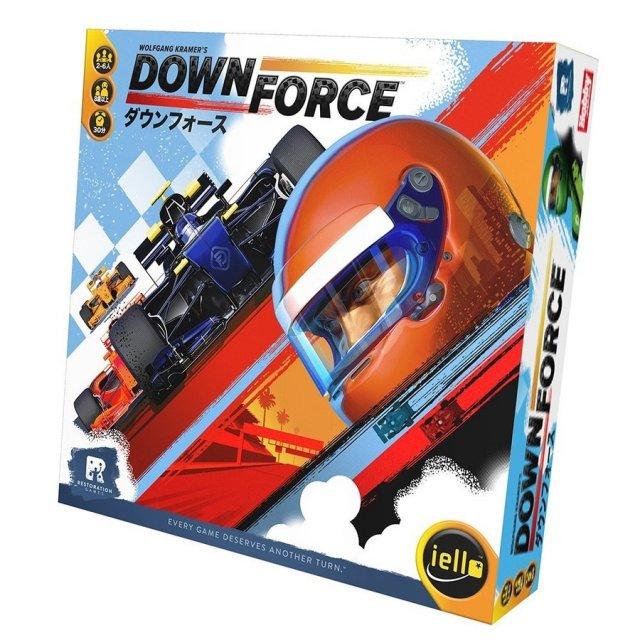 ホビージャパン ダウンフォース 日本語版 ボードゲーム 4981932024035
