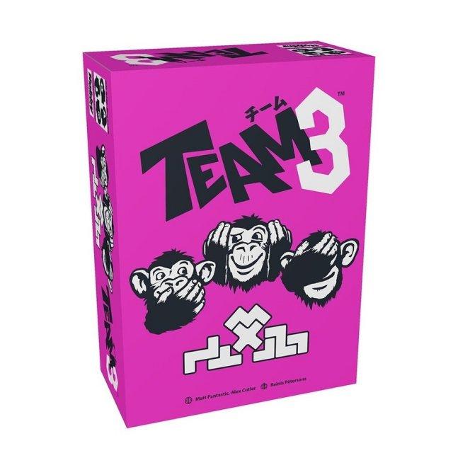 ホビージャパン チーム3(ピンク)日本語版 ボードゲーム 4981932024790