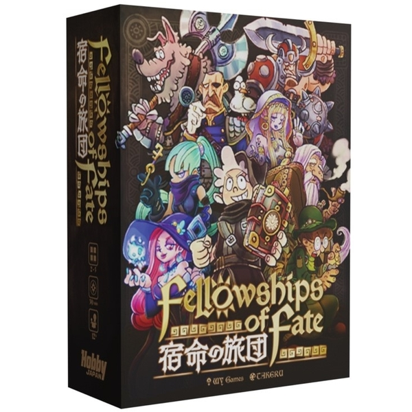 ホビージャパン 宿命の旅団 Fellowships of Fate【取寄対応】 アナログゲーム 4981932025605t