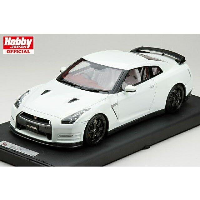1/18 マーク MARK ニッサン GT-R(R35) エゴイスト 2013年式 アルティメイトパールホワイト 限定100台 (PM1803W)