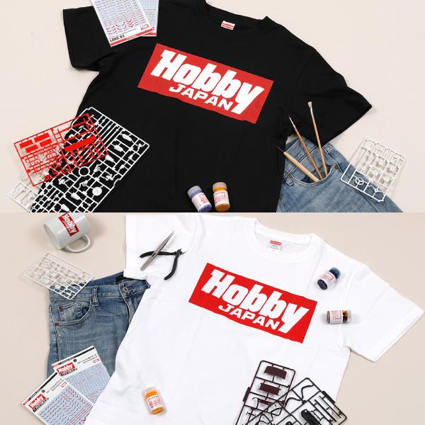 ホビージャパン Hobby JAPAN ロゴ Tシャツ オフィシャルグッズ HJG0001/HJG0002 【同梱種別A】