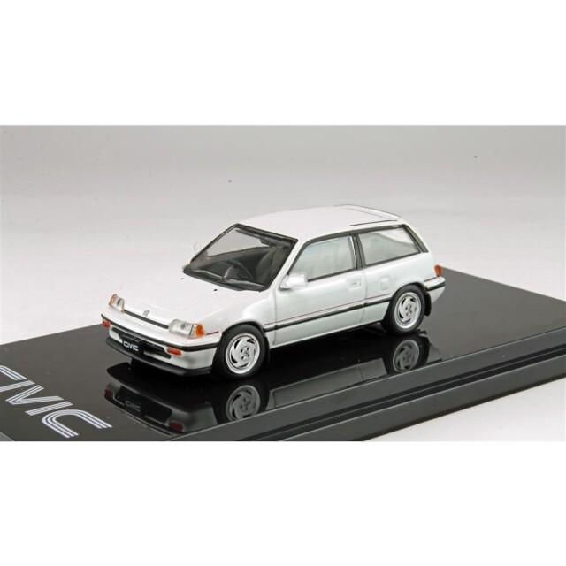 ホビージャパン 1/64 ホンダ シビック Si AT スペシャルエディション 1986 完成品ミニカー HJ641029SW