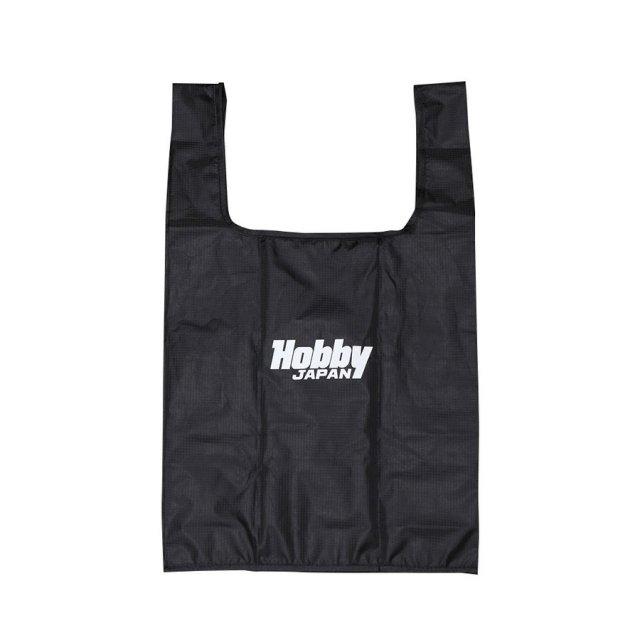 ホビージャパン Hobby JAPAN ロゴ エコバッグ ブラック オフィシャルグッズ HJG0006 【同梱種別A】