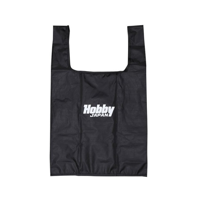 ホビージャパン Hobby JAPAN ロゴ エコバッグ ブラック オフィシャルグッズ HJG0006 【同梱種別B】