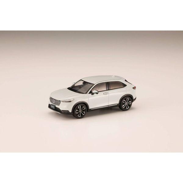 ホビージャパン 1/43 ホンダ ヴェゼル 2021 プレミアムサンライトホワイト・パール 完成品ミニカー HJ431002SW