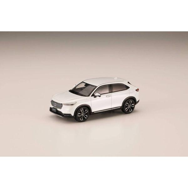 ホビージャパン 1/43 ホンダ ヴェゼル 2021 プラチナホワイト・パール 完成品ミニカー HJ431002PW