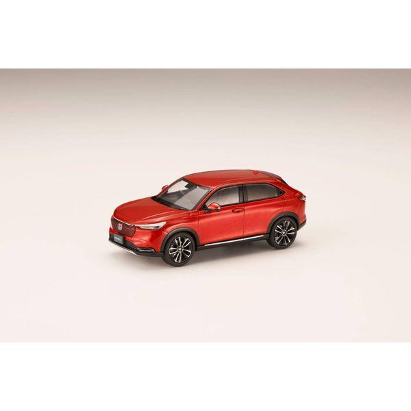 ホビージャパン 1/43 ホンダ ヴェゼル 2021 プレミアムクリスタルレッド・メタリック 完成品ミニカー HJ431002RM