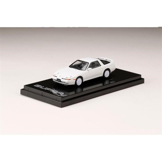 ホビージャパン 1/64 トヨタ スープラ A70 3.0GT ターボ リミテッド 1989 スーパーホワイトIII 完成品ミニカー HJ641026GW