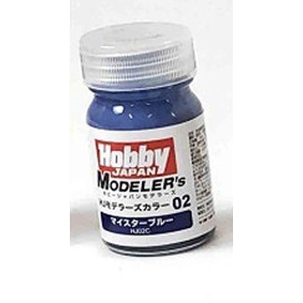 ホビージャパン HJモデラーズカラー02 マイスターブルー ホビージャパン製品 HJ02C 【同梱種別A】