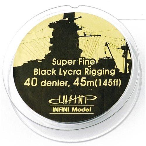 インフィニモデル スーパーファインリギング(直径0.068mm 黒色) 模型用グッズ IR0401
