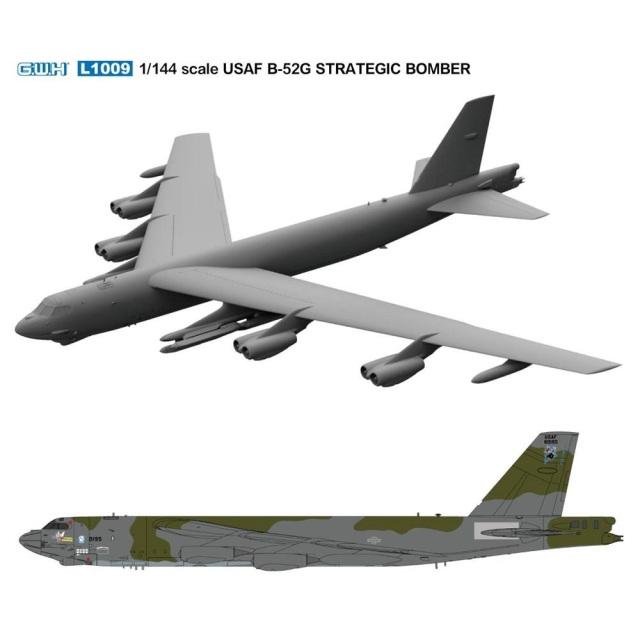 【5月予約】グレートウォールホビー 1/144 アメリカ空軍 B-52G 戦略爆撃機 スケールモデル L1009