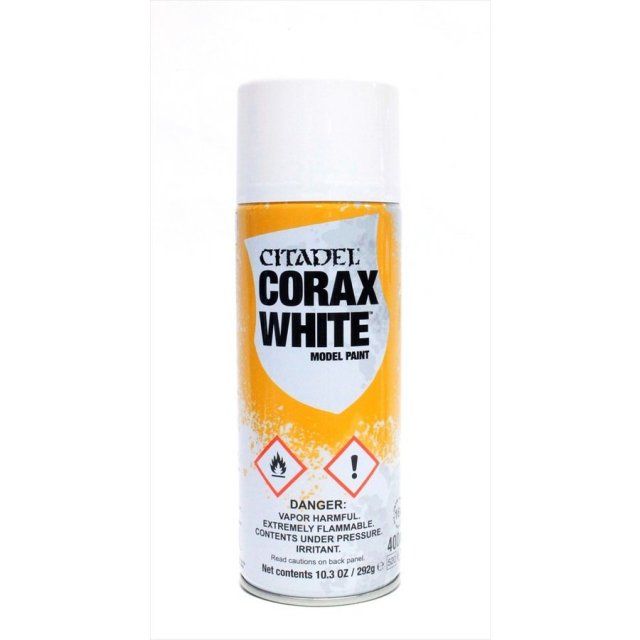 ゲームズワークショップ シタデルカラー コラックス ホワイト スプレー(アンダーコート) 模型用グッズ 5011921063277
