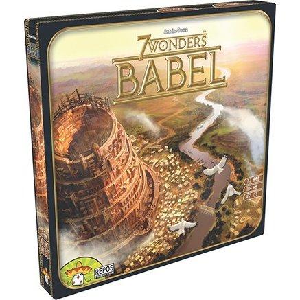 ホビージャパン 世界の七不思議 バベル/Babel 多言語版 ボードゲーム 5425016923191