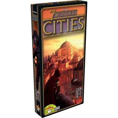 ホビージャパン 世界の七不思議 都市 多言語版 ボードゲーム 5425016923214