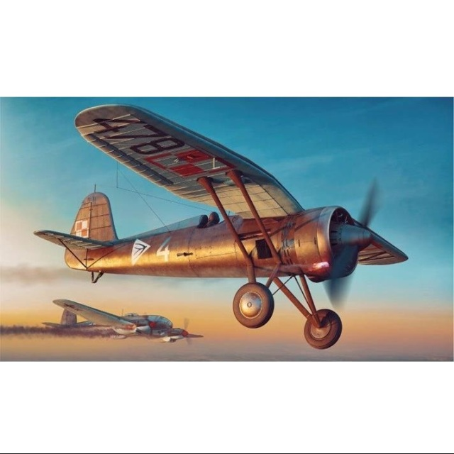 アルマホビー 1/48 PZL P.11c 「エキスパートセット」 スケールモデル ADL40001