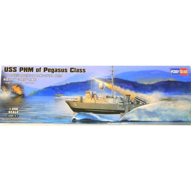 ホビーボス 1/200 米 水中翼ミサイル艇ハーキュリーズPHM-2 スケールプラモデル 82006